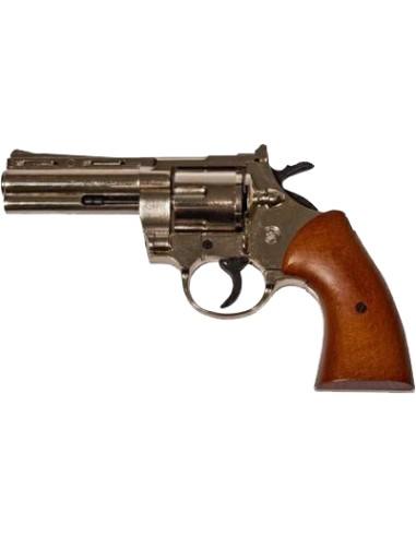 Pistola a salve Bruni Magnum 380 nickel