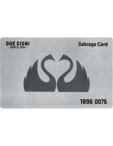 Due Cigni - sabrage card per...