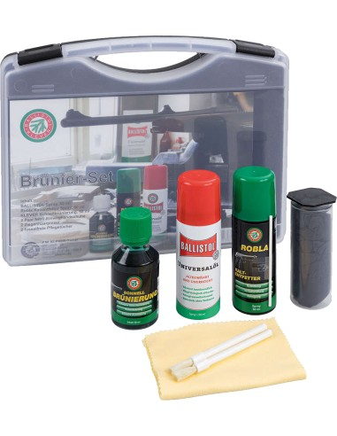 Kit Ballistol brunitore Klever 50 ml